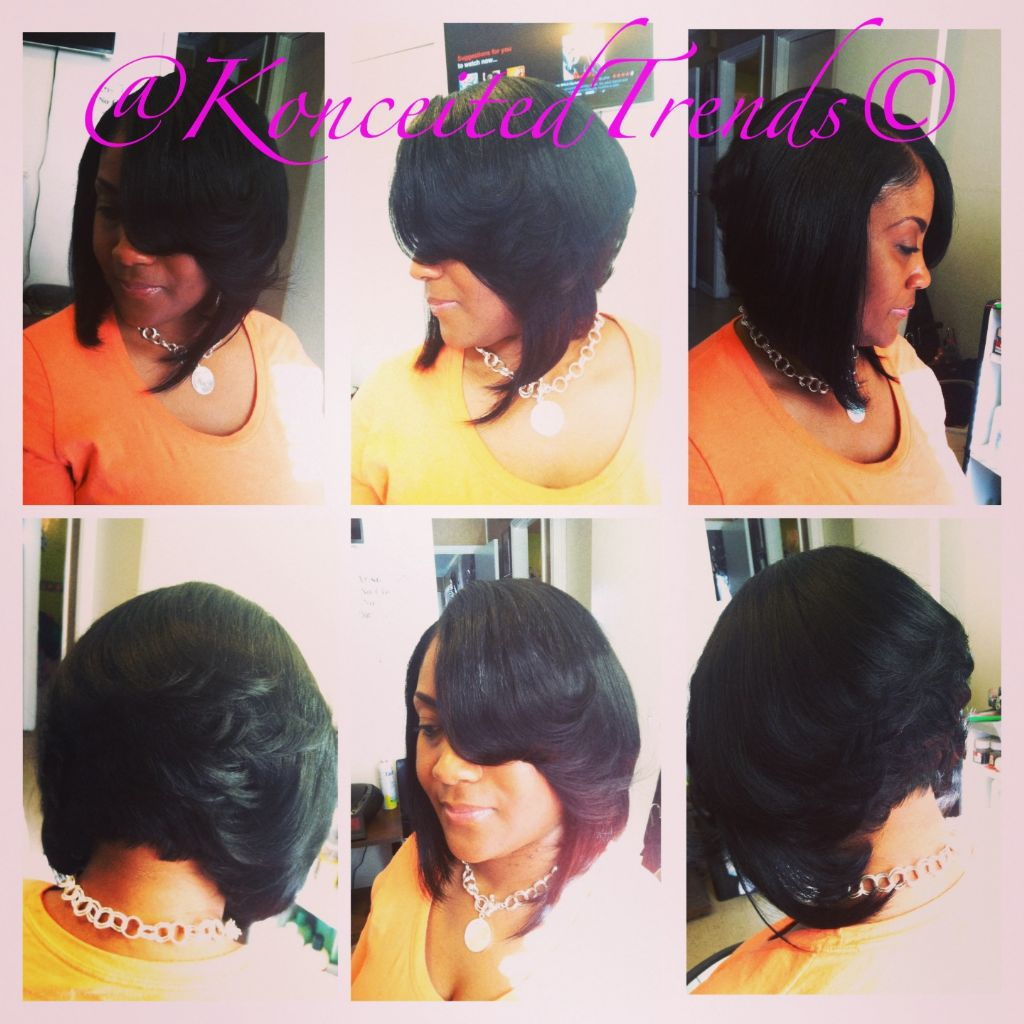 African American Short Quick Weave Hairstyles 4 | LONG HAIRSTYLES